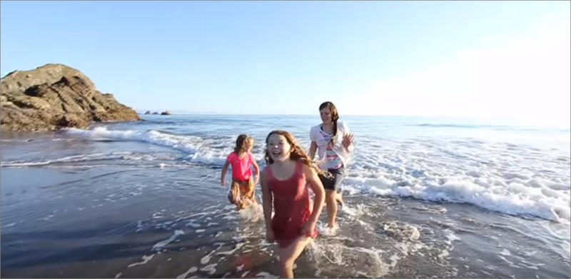 Fun in the sun and surf at Harris Beach | short drive from Ocean Suites Motel - Brookings, OR