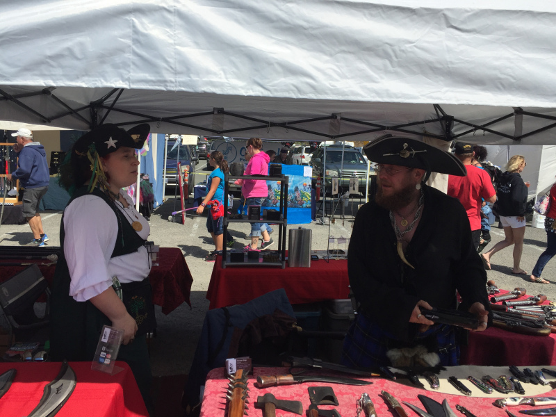 "Pirate Festival August, 2016 | ""Kabobs On A Stick"", Port of Brookings Harbor"