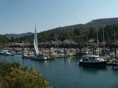 Boat Basin at Port of Brookings-Harbor