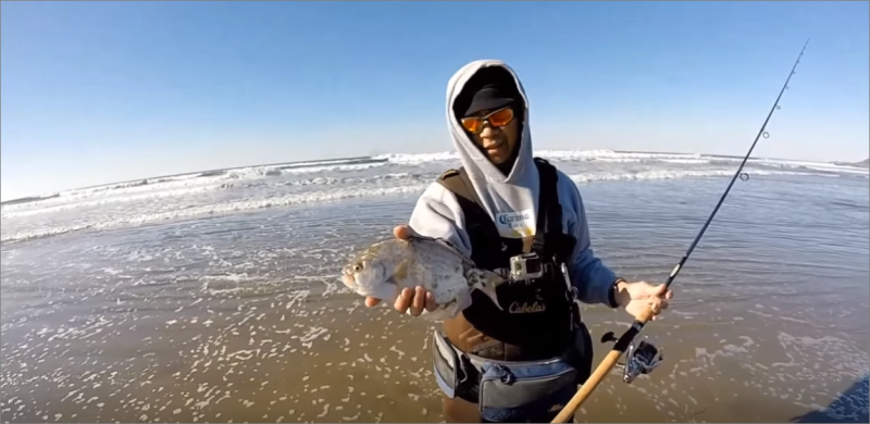 Fishing for Perch of Sporthaven Beach | Short walk from Ocean Suites Motel, Brookings, OR