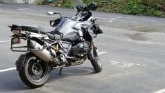 Sweet BMW Motorcycle at Ocean Suites Motel in Brookings, OR
