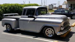 Classic Chevy | Guests stayed at Ocean Suites Motel in Brookings Oregon, they participated in 2016 Azalea Parade and car show festival.