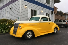 Classic 1938 Chevy | Guest at Ocean Suites Motel, Brookings, OR