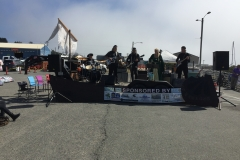 Pirate Festival August, 2016 | Local Band on the boardwalk at Port of Brookings Harbor, Oregon