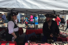 """Pirate Festival August, 2016   """"Kabobs On A Stick"""", Port of Brookings Harbor"""