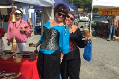 Pirate Festival August, 2016   Smiles all around, Port of Brookings-Harbor, Oregon