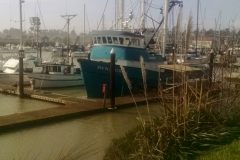 Many boat owners choose to liveaboard, Port of Brookings-Harbor, Oregon.