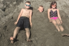 Fun in the sun at Sporthaven Beach, Brookings, OR