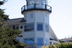 Lighthouse is just 200-yards from Ocean Suites Motel
